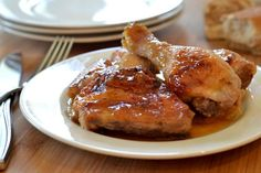 Take a look at Duck Sauce Chicken