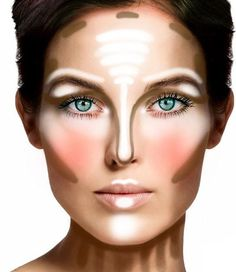Contouring & Highlight - YouTube {I watched. She uses L'Oreal True Match™ Super-Blendable Crayon Concealer for contouring and MAC Soft And Gentle for highlights. A blending brush, foundation brush and for the highlights a fan brush. Very informative and relaxing.)
