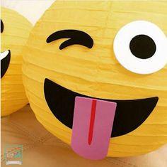 101 fiestas: Ideas para tus centros de mesa de emoji o emoticones