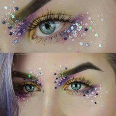 Ojos glitter