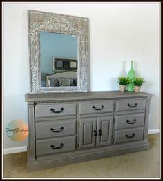 Painted Dresser - Tutorial