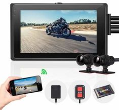 Top 10 Best Motorcycle Dash Cams in 2020 - SuperiorTopList Helmet Camera, App Share, 7 Layers, Great Night, Dashcam, Lcd Monitor, Security Camera