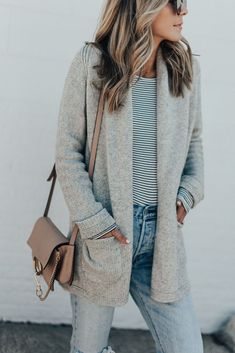 The Cardi You Need to Transition From Winter to Spring (Under $100)