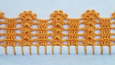 Crochet Shell Pattern, Crochet Edging Tutorial, Free Crochet Doily Patterns, Crochet Lace Edging, Granny Square Crochet Pattern, Crochet Borders, Crochet Cross, Crochet Art, Filet Crochet