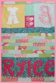 Fresh Poppy Design Quilt Patterns: Happy Baptism quilt