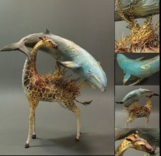 wowwwwwwwwwww----  Custom Order Animal Stack by creaturesfromel on Etsy, $525.00