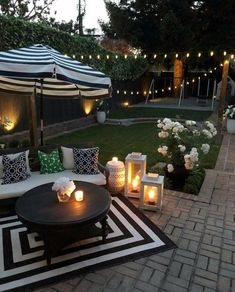 Patio Ideas to Beautify Your Home On a Budget Patio Ideas - Die Sommersaiso. - Patio Ideas to Beautify Your Home On a Budget Patio Ideas – Die Sommersaison ist tatsächlic - Small Backyard Design, Small Backyard Patio, Backyard Patio Designs, Pergola Patio, Diy Patio, Garden Design, Backyard Ideas, Patio Stone, Flagstone Patio