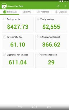 Smoke Free Beta App - Stop smoking ...I am currently using this app as an aid to stop smoking. It a great as a tracker, motivates me with a missions to accomplish every day and shows saving money on a daily and yearly basis. With the help of this and chantix...I am a non smoker now.