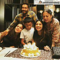 Family celebrating Tanisha mukareji b'day