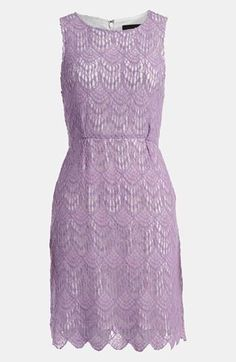 Lace & lavender. The perfect dress?