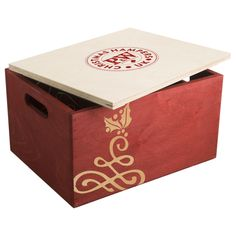 H17 Christmas Chest Hamper with printed lid