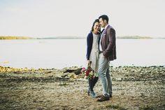 Engagement Photographer / nashville / by the lake / lakeside photos / sunshine / fun / water / romantic / happy engagement photography  Ariel Renae Photo | Destination Wedding Photographer / www.arielrenaephoto.com