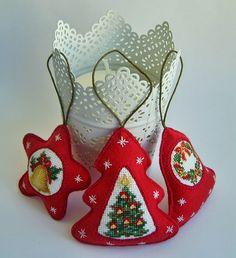 Site in Russian. Christmas ornament idea.
