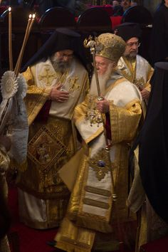 Patriarch Bartholomew I by Børre Ludvigsen, via Flickr