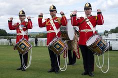 The Goodwood Marching Band  Image by Matt Stuart