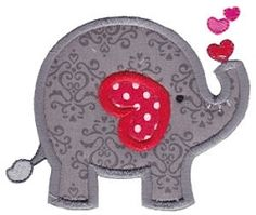 Loving You 8 Applique - 2 Sizes! | Valentine's Day | Machine Embroidery Designs | SWAKembroidery.com Bunnycup Embroidery