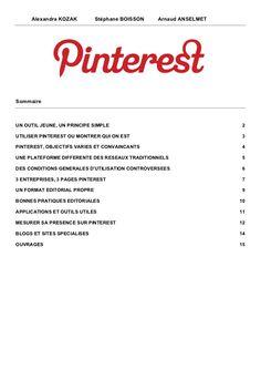 #pinterest guide utilisation by Alexandra Kozak via Slideshare Atelier Pinterest Festival de la Communication Santé #FCS13