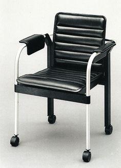 aqqindex:  Dieter Rams, 862 Chair, for Vistoe, 1986