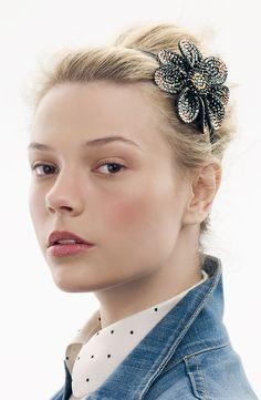 Tasha 'My Fabulous Flower' Headband #Nordstrom #AugustCatalog