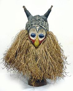 Africa | Yaka Mask | Dem. Rep. of Congo