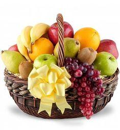 New fruit basket gift ideas mothers ideas Fruit Appetizers, Fruit Snacks, Fruit Smoothies, Fruit Recipes, New Fruit, Fresh Fruit, Sympathy Gift Baskets, Basket Gift, Fruit Basket Delivery
