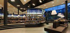 Nieuwe Bibliotheek by Concrete, Almere   Netherlands store design   Como uma biblioteca pode ser atrativa e divertida.