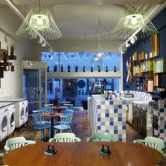 A' Design Award Winner Favorites 2013: Wasbar Laundromat by Ruud Belmans