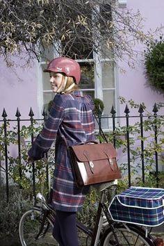 Tartan - love the reproduction rack bag