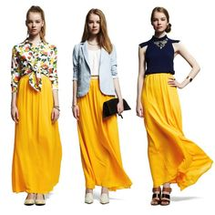 All I want to wear right now is a bright maxi skirt. Check out our picks here http://ow.ly/ax1mH