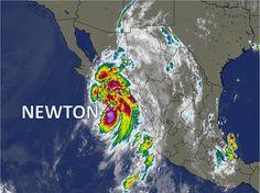 Comunicado de prensa huracán Newton