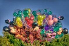 Bildergebnis für disneyland balloons