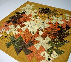 Twisted Autumn Quilt