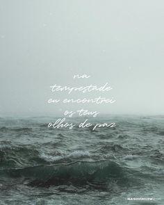 na tempestade eu encontrei os teus olhos de paz  @igrejamtsiao ()