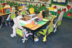 Rockin' in the Rainforest! Activity Games, Literacy Activities, Kindergarten Classroom, Classroom Ideas, Rainforest Classroom, Rainforest Animals, Learning Stations, Reading Response, New Class