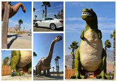 The Cabazon Dinosaur