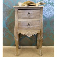 Inspired by the classic shabby elegance appearance, the La Rochelle collection features a lovely wood washed finish for that 'old worn' appearance. Drawers, Shabby, Traditional, Contemporary, Cabinet, Wood, Classic, Bedside Tables, Inspired