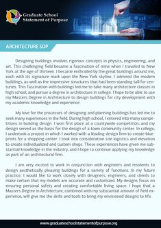 Architecture help writing