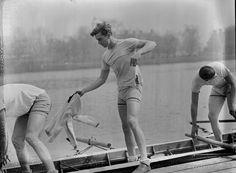 Franklin D. Roosevelt Jr. Rowing Crew for Harvard