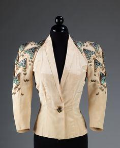 Elsa Schiaparelli eveningjacket ca. 1939 via The Costume Institute of The Metropolitan Museum of Art