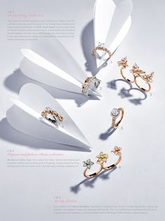 #Rings dancing on fingers
