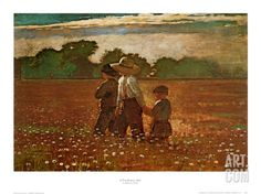 In the Mowing Print by Winslow Homer at Art.com