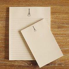Notepad Set - Gary | Oak + Ink