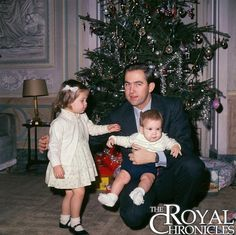 royal_greece on Instagram: The newly exiled King Constantine with Princess Alexia and Crown Prince Pavlos, 1967