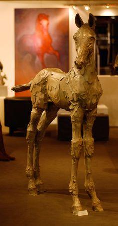 Catherine Thiry - chevaux Sculpture                              …