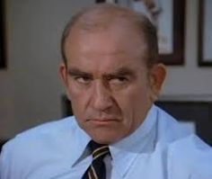 Ed Asner as Lou Grant.