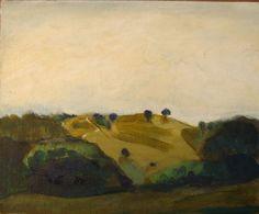 landscape near Cobaki  Painting by Phil Barron