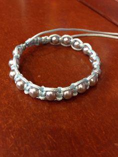 #DIY pulsera de perlas y cola de raton