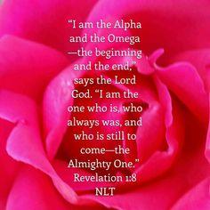 Revelation 1:8 NLT