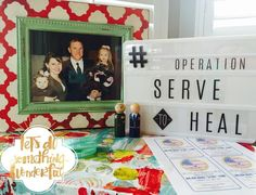 Serve in honor of someone you love May 1-May 5.  We are serving in honor of our hero.  Click the link in my profile for more information about #operationservetoheal and for a cute downloadable printable made by @landeelu -  we would love it if you would #repost to spread the word #welovemajorbradfunk  #familiesareforever #serviceheals #rewriteourmay1st