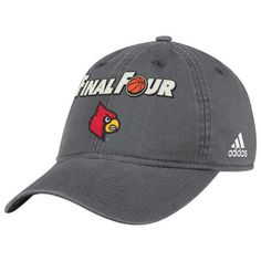 Louisville Cardinals College Basketball Final Four Adjustable Hat